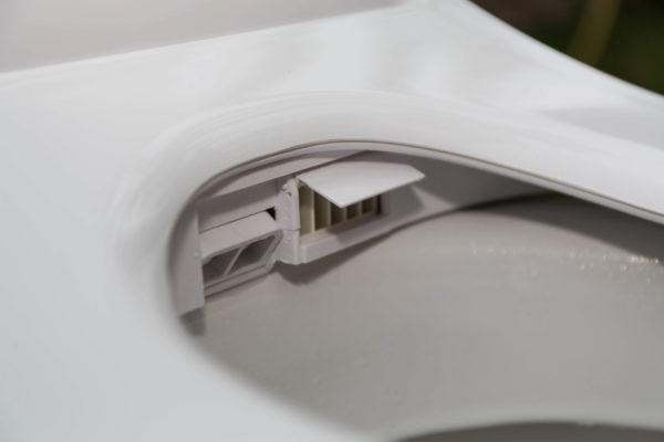 Toilette lavante avec séchoir