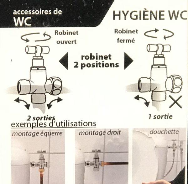 usage robinet 3 voies
