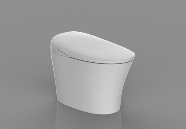 Toilettes japonaises modèle céramique complet C kleent
